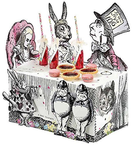 Talking Tables Truly Alice Alice in Wonderland Mad Hatter Party Buffet Centerpiece for a Tea Party or (Party Supplies Uk)