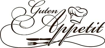 GRAZDesign 620562_30_080 Wandtattoo Küche Guten Appetit mit ...
