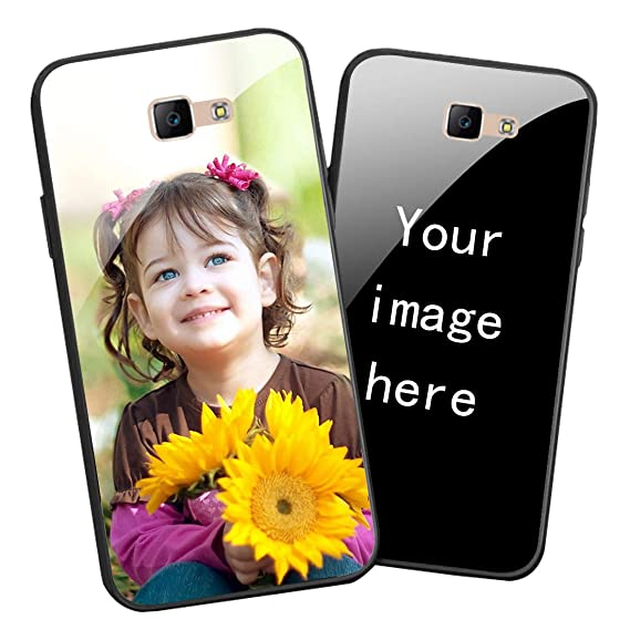 reputable site 3a6c6 f0090 Amazon.com: Personalized Picture Custom Tempered Glass Cellphone ...