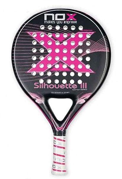 NOX Silhouette III - Pala para Mujer, Color Rosa/Negro ...