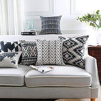 Amazon.com: Modern Homes - Fundas de cojín decorativas 100 ...