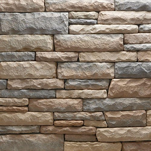 Veneerstone Ledge Stone Bristol Flats 10 sq. ft. Handy Pack Manufactured ()