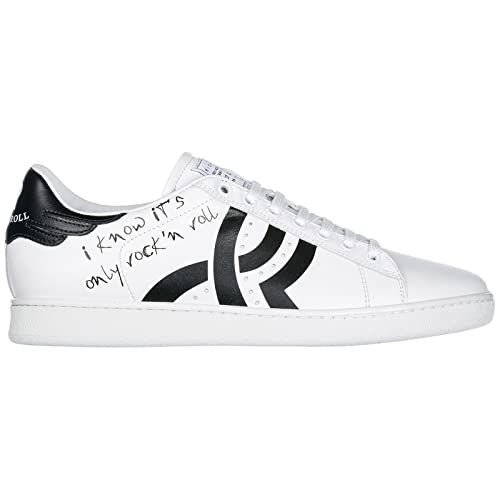 Uomo Eu E 44 Bianco it Amazon Sneakers John Richmond Borse Scarpe PwqREE