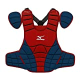 Mizuno Samurai G3 15-Inch Chest Protector (Red/Navy)