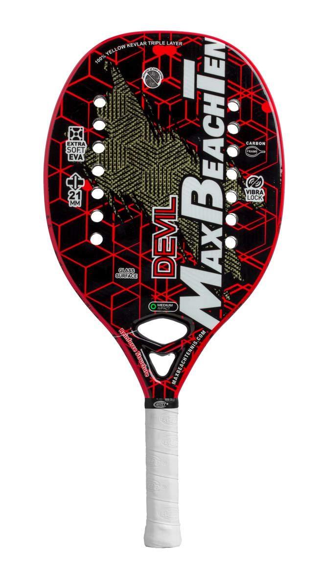 Pala de Tenis Playa MBT DEVIL 2019: Amazon.es: Deportes y aire libre
