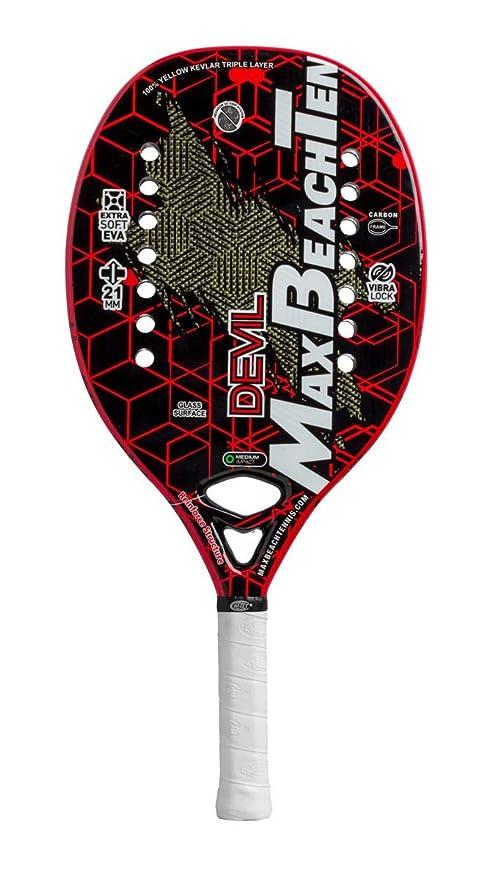 Pala de Tenis Playa MBT DEVIL 2019: Amazon.es: Deportes y ...