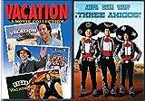 Vacation Chevy Chase & Three Amigos DVD / Las Vegas / European Classic Comedies Bundle 4 Movie Set