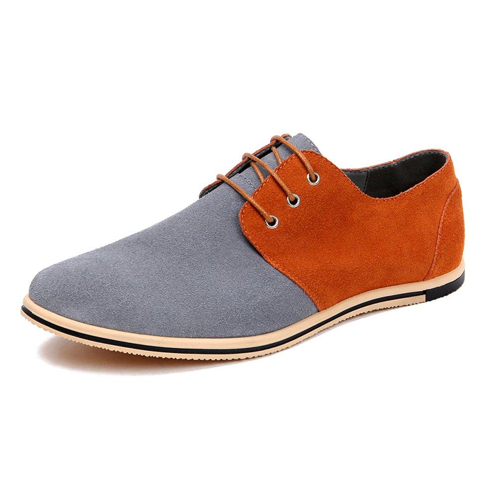 TALLA 50 EU. AARDIMI - Zapatos Planos con Cordones de Caucho Hombre