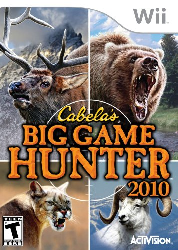 Cabela's Big Game Hunter 2010 – Nintendo Wii (Game Only)