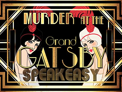 My Mystery Party Murder Mystery Party - Murder at 'The Grand Gatsby' Speakeasy (Murder At The Manor Murder Mystery Party)