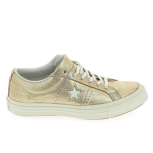 Converse Lifestyle One Star Ox, Zapatillas Unisex niños: Amazon.es: Zapatos y complementos
