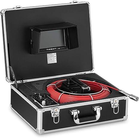 Steinberg Systems Sbs Ec 500 Rohrkamera 50 M 12 Led 7 Display Inspektionskamera Kanalkamera Endoskop Kamera Abflusskamera Baumarkt
