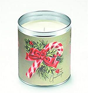 product image for Aunt Sadies 2025 Candles Greetings, Candy Cane, 4 by 3.25-inches