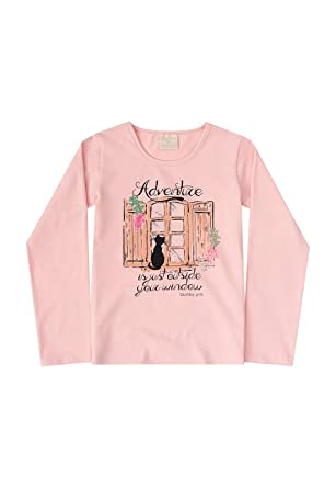 Blusa Infantil Cotton Quimby  Amazon.com.br  Amazon Moda 931028aa1ed