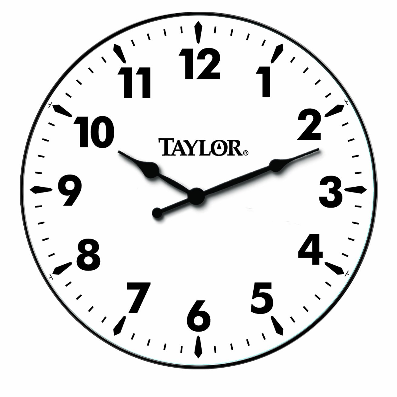 Taylor Precision Products Patio Clock (12-Inch)