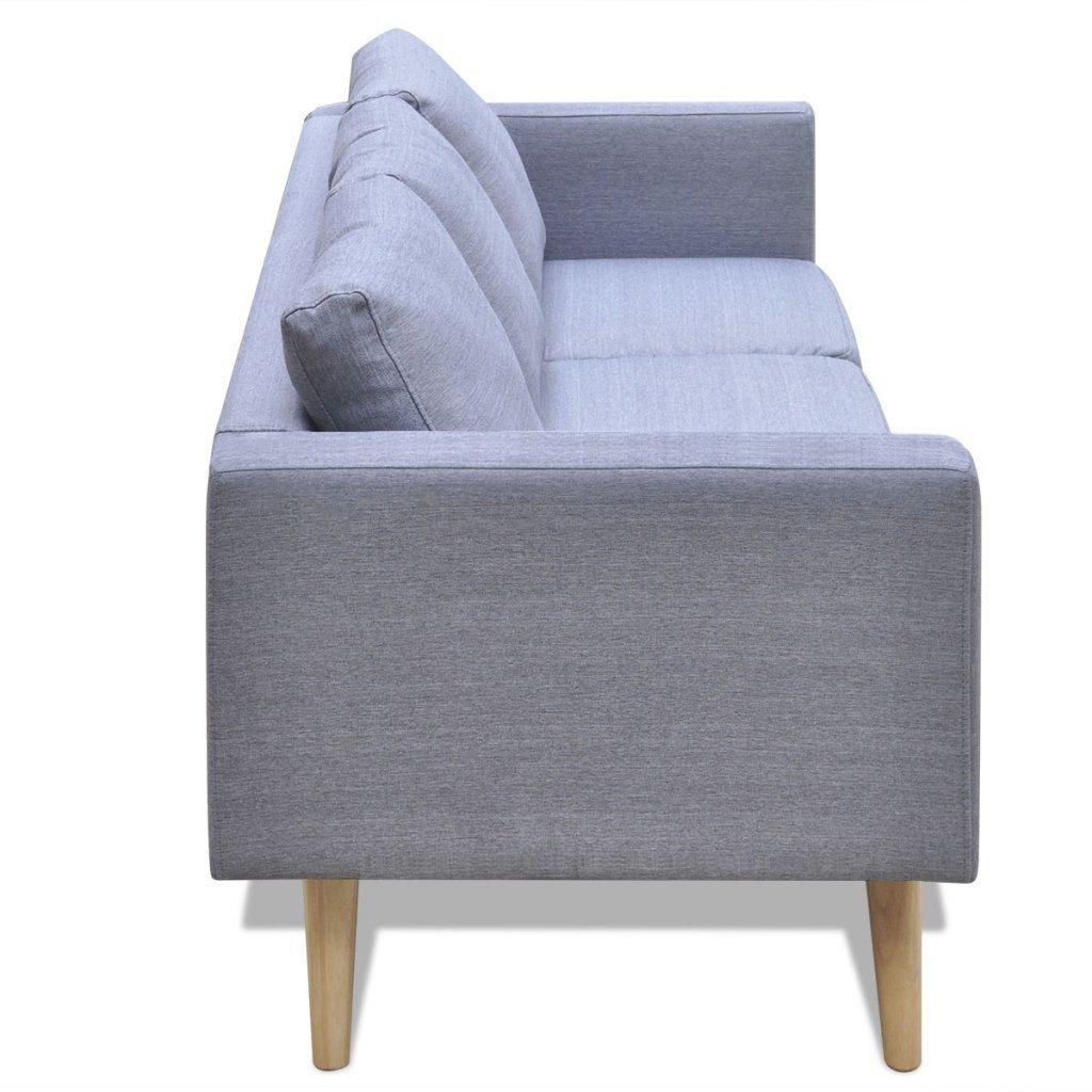 VidaXL Sofa 3-Sitzer Polstersofa Stoffsofa Stoffsofa Stoffsofa Lounge Couch Holz Design Sitzmöbel 90d64d