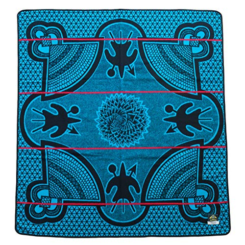 BASOTHO HERITAGE BLANKET - (As seen in Black Panther) Kharetsa Aloe. (61x 65) Original Quality, Woolen wearing blankets from Lesotho, Southern Africa