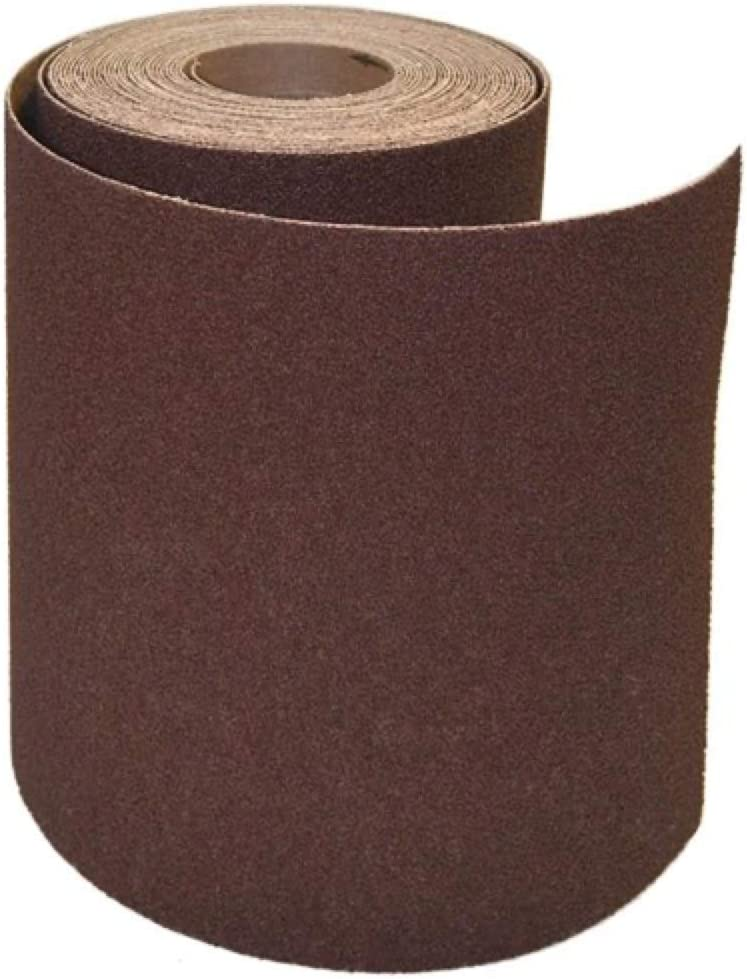 ALFA Tools CR62878 3 x 50 Yards 220 Grit Aluminum Oxide Heavy Duty Cloth Roll