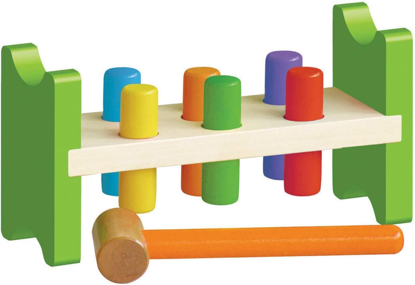 natural toys wooden peg animals toddler toys emergent toy Pond Adventures wooden peg people preschool toys