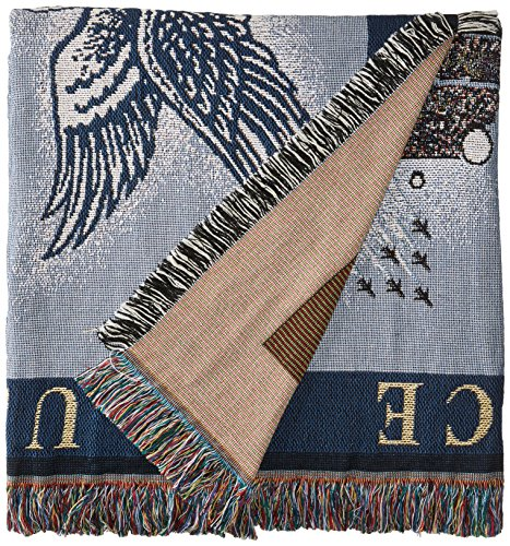 Art Tapestries NCAA Air Force Falcons Afghan Throw Blanket, One Size, Multicolor