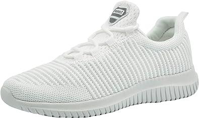 riemot Zapatillas Deportivas para Hombre, Zapatos para Correr Deporte al Aire Libre Running Fitness Gimnasio Súper Ligeras y Transpirables Sneakers Calzado Casual: Amazon.es: Zapatos y complementos