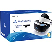 Sony Playstation 4 VR Headset | VR Camera | 3 VR Games: VR Worlds, Rigs & Until Dawn