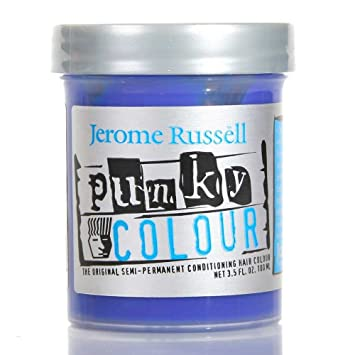jerome russell punky colour hair color crme lagoon blue 35 oz - Punky Color