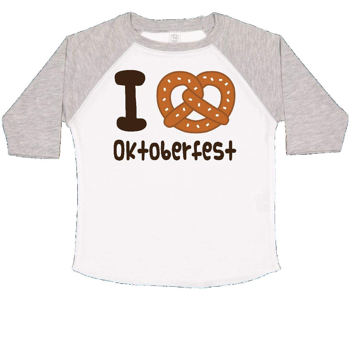 inktastic I Love Oktoberfest Toddler T-Shirt 2T White and Heather by inktastic