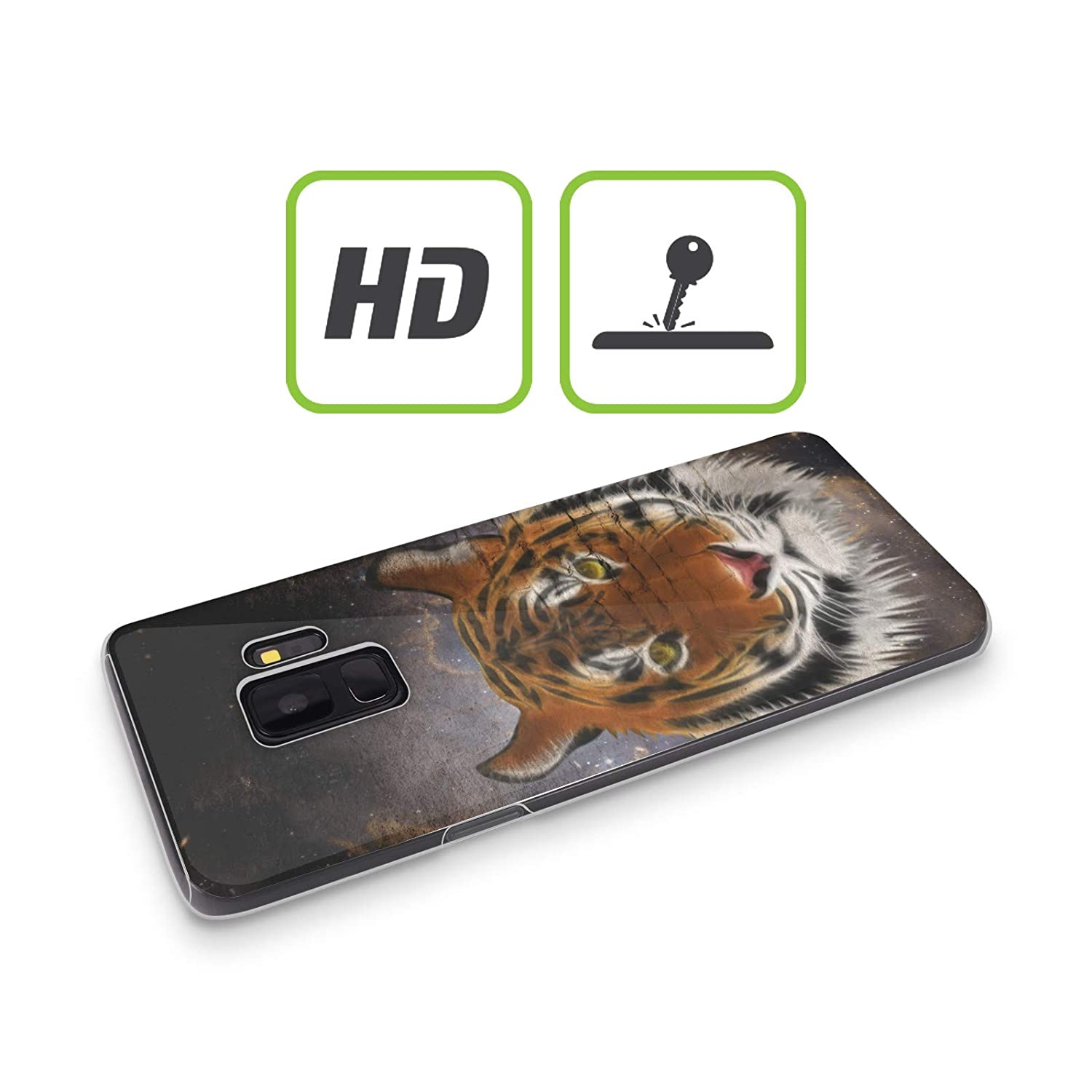 Amazon.com: Official Simone Gatterwe Abstract Tiger Animals ...
