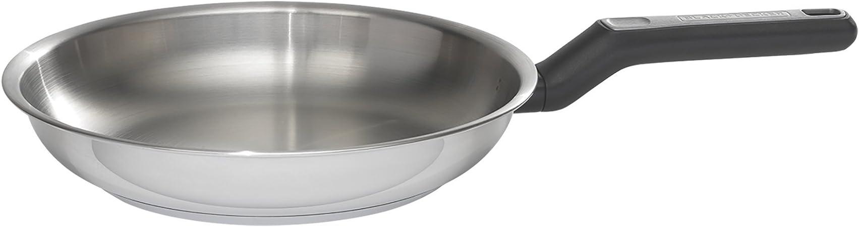 BLACK DECKER 83381 Durable Stainless Steel Fry Pan, 10 , Silver