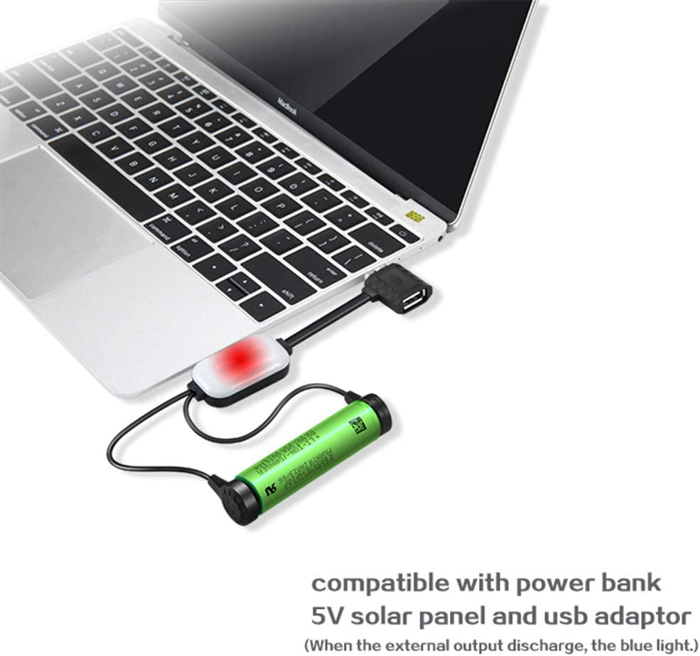 Aleola Magnetic USB Li-ion Battery Charger with Charging Discharging Power Bank