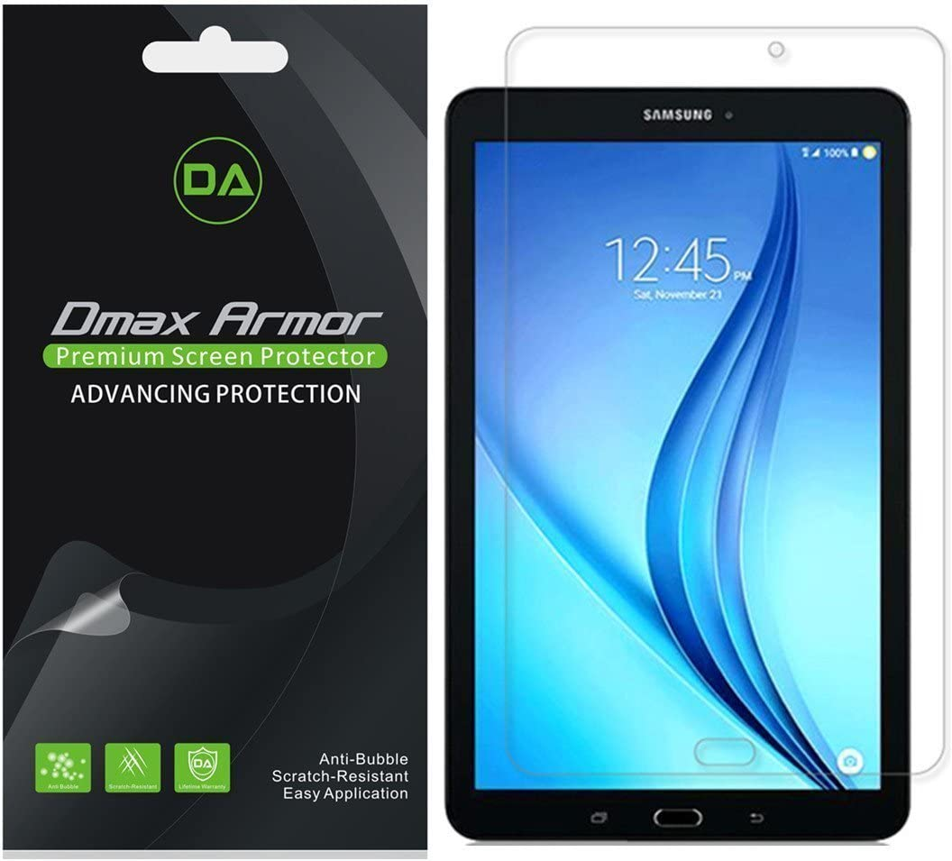 3-Pack Dmax Armor Clear Screen Protector for Samsung Galaxy Tab E NOOK 9.6/""