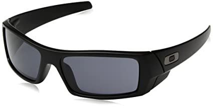 5a7a9c8ff5a6 Amazon.com: Oakley Men's Gascan Rectangular Sunglasses, Matte Black ...