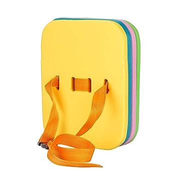 MUZI - Flotador de Seguridad para niños y Adultos, Ajustable, 4 Capas, Flotador