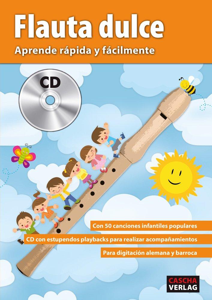 CASCHA HH 1510 EN Set de fl/ûte /à bec CD doigt/é baroque avec livre de fl/ûte /à bec en anglaise