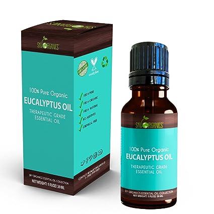 96d0a9a39217 Amazon.com  Best Eucalyptus Essential Oil By Sky Organics-100 ...