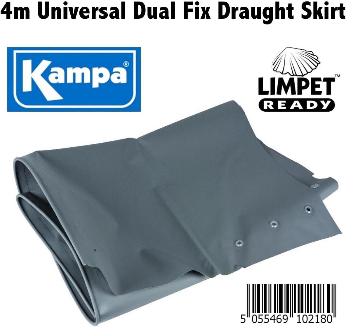 con tecnologia Limpet Ready 4/m x 70/cm Kampa minigonna universale per roulotte e camper