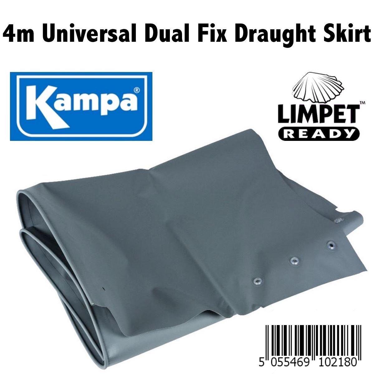 Kampa Draught Skirt 4m x 70cm Universal Caravan & Motorhome - Limpet Ready
