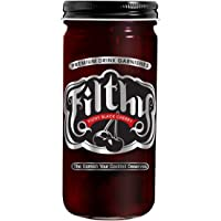 8oz Filthy Black Amarena Cherry Jar