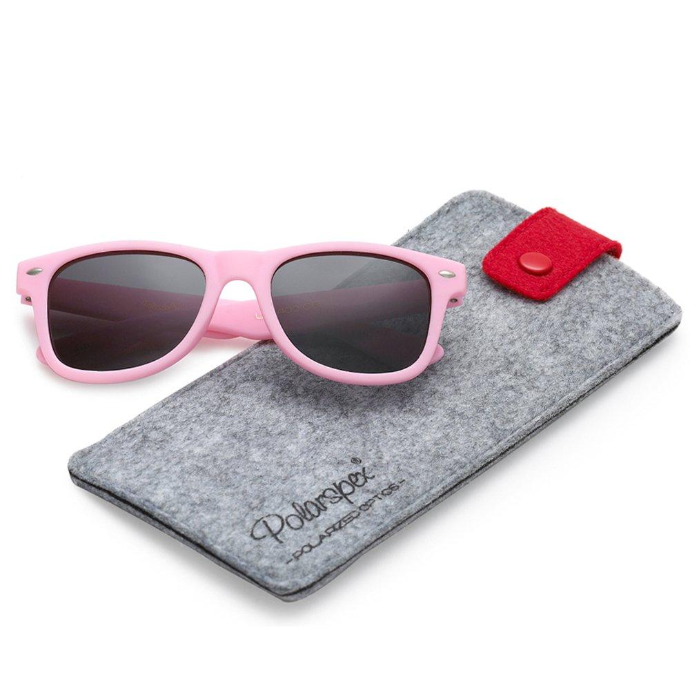 Polarspex Kids Children Boys and Girls Super Comfortable Polarized Sunglasses
