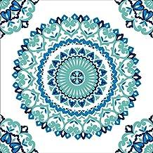 WallPops NU1660 Jasmine Medallion Peel and Stick Wallpaper, Multi-Color