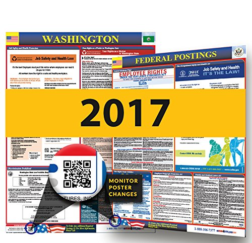 2017 Washington Labor Law Posters  State   Federal