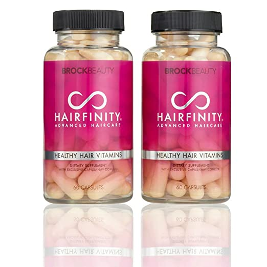 2 opinioni per Brock Beauty Hairfinity Healthy Hair Vitamins 120 capsules (2 Months Supply) by