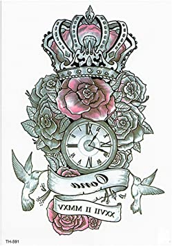 Tatuaje temporal, Tatuajes falsos Tatuaje de la cara Letras ...