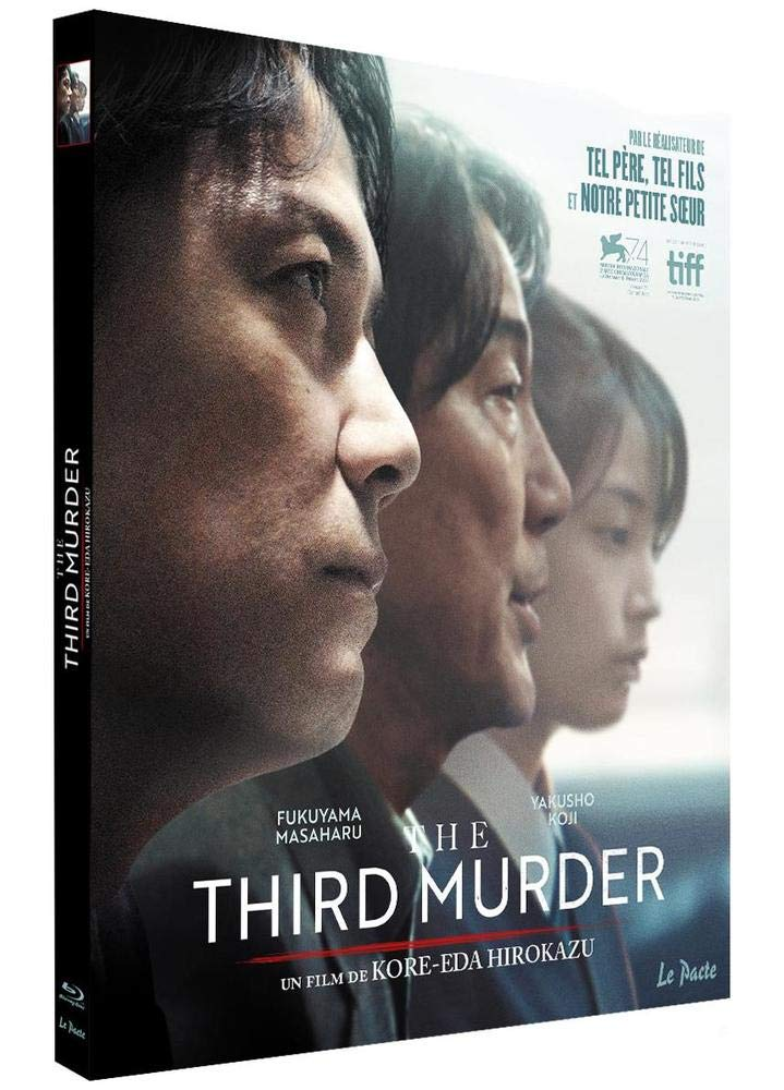 Blu-ray du film The Third Murder