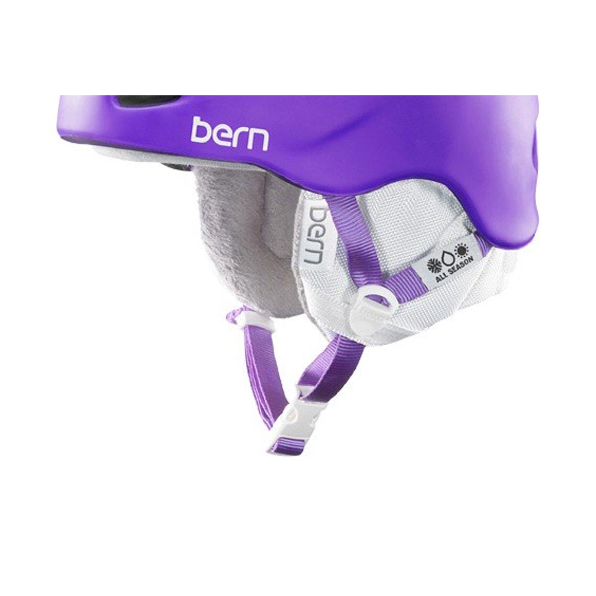 Bern HECCCWML Accessoire Casque vélo Femme, Gris, M/L BEROG|#Bern HECCWML