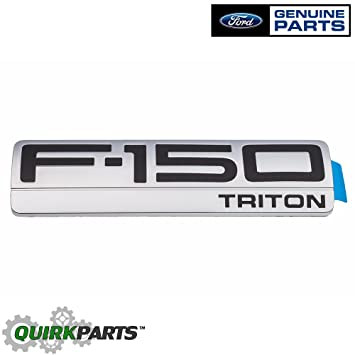 2004-2008 Ford F150 XLT Triton Chrome Fender Right /& Left Emblem Decals OEM NEW