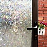 Mikomer 3D Decorative Window Film,Clear Glass