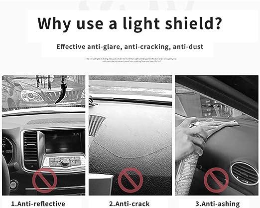 Autotech Park Dashboard Protector Dash Mat Sun Cover Compatible with 2016-2020 Chevrolet Malibu Reduce Hazardous Windshield Glare