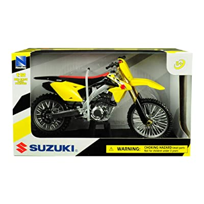 New Ray Toys 1:12 Scale Sport Bike Die-Cast Replica Suzuki RMZ450 2014 57643: Automotive